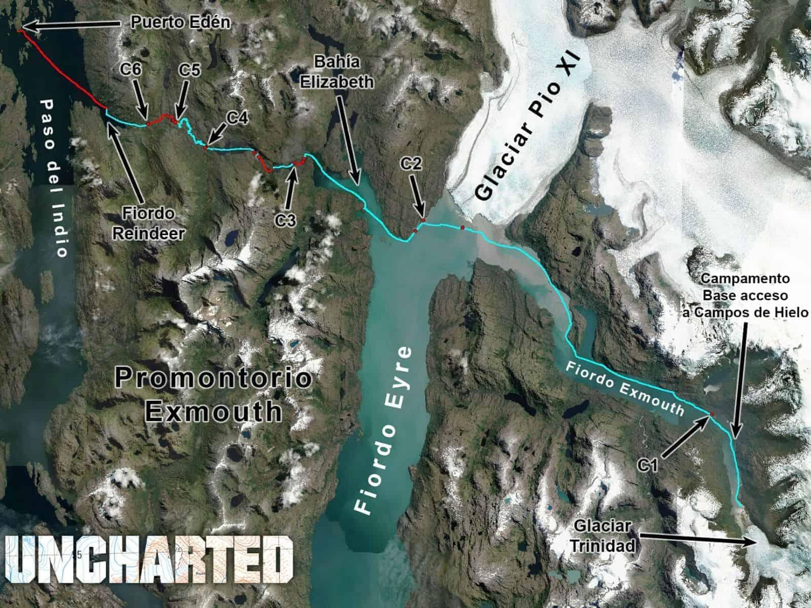 Kayak Glaciar Trinidad 19