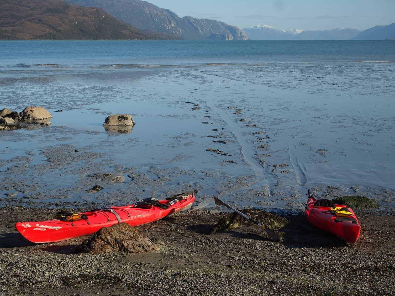 Kayak Glaciar Trinidad 4