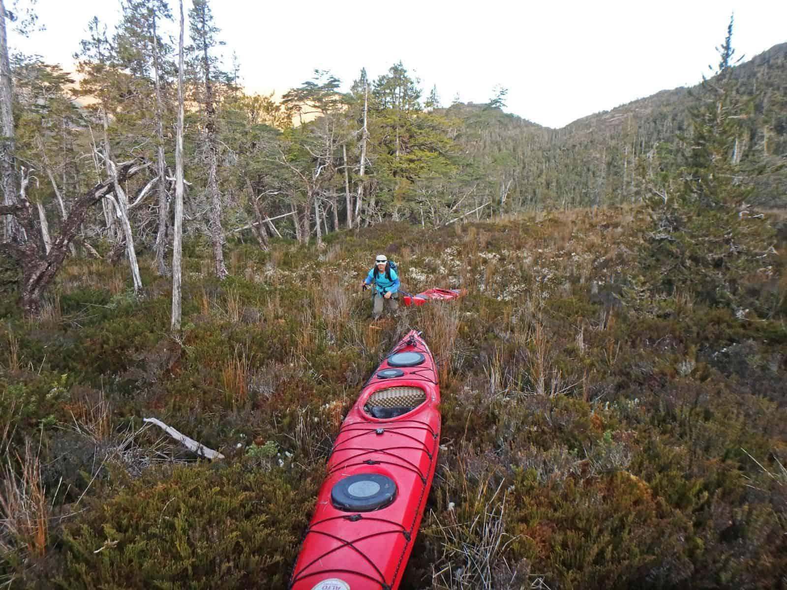 Kayak Glaciar Trinidad 8